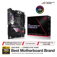 MOTHERBOARD AMD ASUS ROG CROSSHAIR VIII FORMULA - AM4 X570