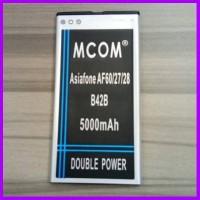 BATERAI BATRE BATTERY ASIAFONE AF60 AF27 AF28 B42B DOUBLE POWER MCOM