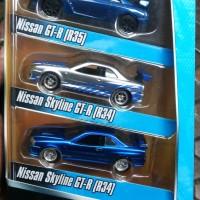 diecast promo jada 55 set brians car fast furious