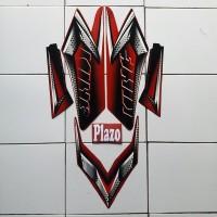 stiker yamaha rx king 2008 merah
