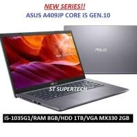 LAPTOP ASUS A409JP i5-1035G1 RAM 8GB 1TB VGA NVIDIA 2GB 14FHD WIN10