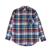 Russ Shirt Flanel Flux Yellow Motif 6