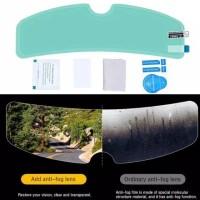 Stiker Anti Fog Rain Helm Motor Hujan Kabut 635 - Anti Kabut Fog