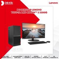 PC Desktop Lenovo V55t-15 (AMD Ryzen 3 3200G 8GB 1TB DVDRW Win10 21.5)