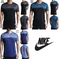 Kaos Training Pria Nike 6904 Import Baju Olahraga Cowok Gym Futsal
