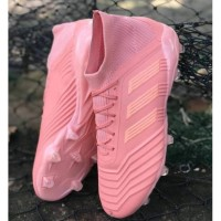 Sepatu Bola Adidas Predator 19.1 Pink