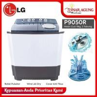 LG MESIN CUCI 2 TABUNG P9050R P 9050R [9KG] GARANSI RESMI