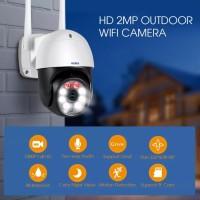 Kerui 2MP WiFi IP Camera Auto Tracking Waterproof NightVision Amazing