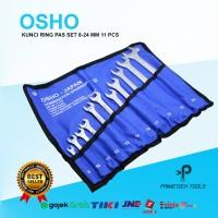 OSHO KUNCI RING PAS 8-24 MM 11 PCS TERMURAH