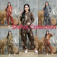 Baju Setelan Tidi Motip Sultan Rayon Santung Super