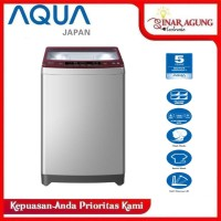AQUA MESIN CUCI TOP LOADING AQW105825QD / AQW 105825QD [10KG] RESMI