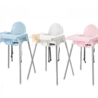 IKEA High Chair Kursi Makan Bayi Biru/Pink/Putih