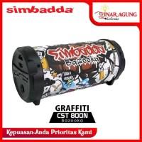 SIMBADDA PORTABLE SPEAKER BLUETOOTH CST800N CST 800N - GRAFFITI