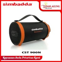 SIMBADDA PORTABLE SPEAKER BLUE CST900N CST 900N - BLACK
