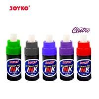 Joyko Stamp Pad Ink Refill Isi Ulang Bak Tinta Stempel 50 cc Warna ORI