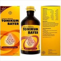 TONIKUM BAYER 330 ML-SUPLEMEN MAKANAN,MULTIVITAMIN,MINERAL & ZAT BESI