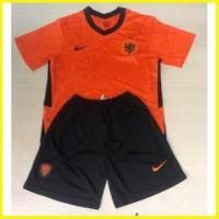 Jersey baju bola anak kids stelan celana olahraga Belanda terbaru gra