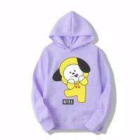 Sweater hodie anak perempuan |Hoodie JIMIN BT21|sweter baju jaket cewe