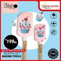 STEIN COOKWARE BAKING SPATULA MUFIN PINK - ORIGINAL