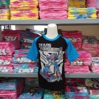 baju kaos anak Transformer Optimus prime 2-8th