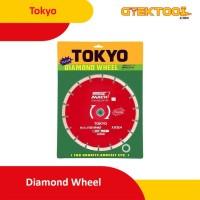 """Tokyo Diamond Wheel 9"""" Mata Pisau Potong Keramik Granit 9 Inch 230 mm"""