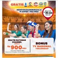 PROMO Antena Parabola Indovision - MNC Vision+LNB S-Band+Biaya pasang