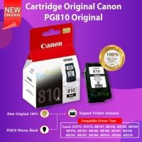 Cartridge Tinta Canon PG810 PG-810 Black Printer iP2770 iP2772 MP237