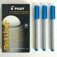 PULPEN PILOT BALL LINER 0,8 PER PCS (HITAM DAN BIRU)