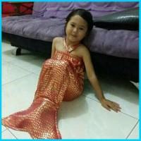 Baju Mermed Anak Kostum Putri Duyung