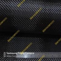 Hot Produk Bahan Kain Serat Carbon Kevlar Fiber Fabric Hitam 3K Twill