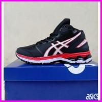 Sepatu Olahraga Voli Volly Volley Asics Gel Hoop Black Red 39_44