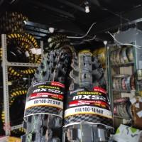 Paket Dunlop ban Trail geomax MX52 80 / 100 - 21 dan 110 / 100 - 18
