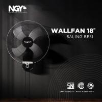 Kipas Angin Dinding Baling Besi NAGOYA (Wall Fan) - NG-18WF NGY