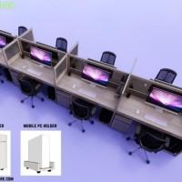 Meja Partisi Kantor Untuk 2-10 Orang Gratis Ongkir - 2