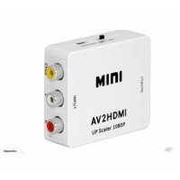 Mini HDMI AV2HDMI 1080 P Mini HDMI Ke RCA Audio Video AV CVBS HD TV