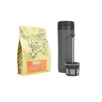 Paket Seduh Espro Coffee Travel Press Gunmetal Grey