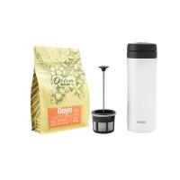 Paket Seduh Espro Coffee Travel Press White
