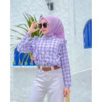 Una top atasan blouse wanita bahan twiscone size fit L