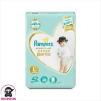 PAMPERS Popok Premium Care Pants L 42