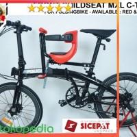 KURSI BANGKU BONCENG ANAK MXL Type-C Folding Bike Boncengan Anak Seli