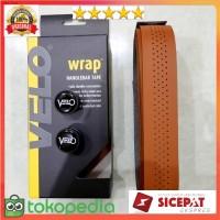 Bar tape SEPEDA Velo Gel Brown Premium Roadbike / Fixie / Mini COKLAT