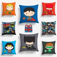 Bantal Sofa Superhero - Superman / Batman / Aquaman