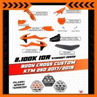 Body Ktm 250 Custom , Full Body Ktm Custom , Body Set Ktm 2017 2019