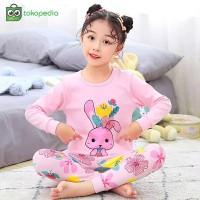Baju Tidur Anak Perempuan Karakter Buci 1 - 6 Piyama Musim Dingin Lucu
