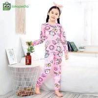 Baju Tidur Anak Perempuan Piyama Sunny Musim dingin 1 - 6 Tahun