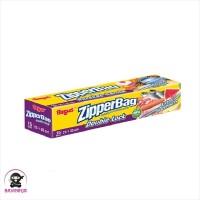 BAGUS Zipper Bag Double Lock 25 x 35 cm 15 Bags