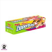 BAGUS Zipper Bag Easy Slider 20 x 20 cm 25 Bags