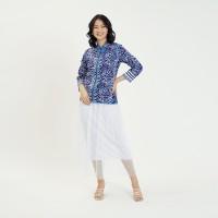 Cindy mgm Tulis T0736, Baju atasan kerja blouse batik wanita modern