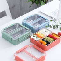Kotak Makan Stainless Steel 2 Compartements WDivider ATRIA