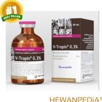 V TROPIN 0.3% 50 ml - Atropin Hewan Sapi Anjing Kucing Kambing Vitropi